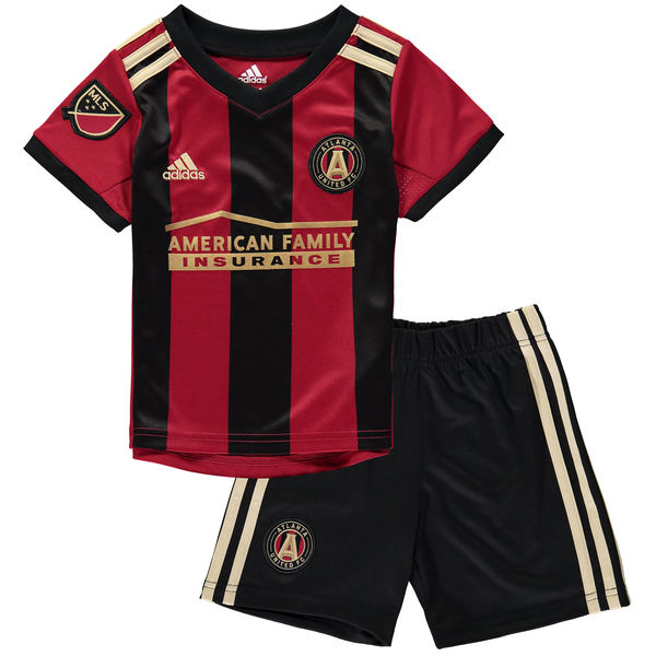 Toddler Atlanta United FC adidas Red Black 2017 18 Primary Box Jersey Set 006a6d5a3
