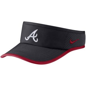 ed5477a0 Atlanta Braves Nike Featherlight Performance Visor